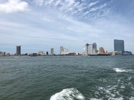 The Atlantic City Casino skyline