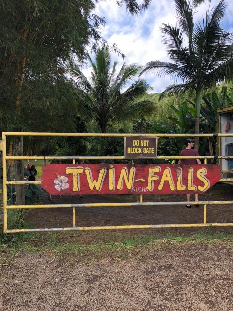 Twin Falls Entrance
